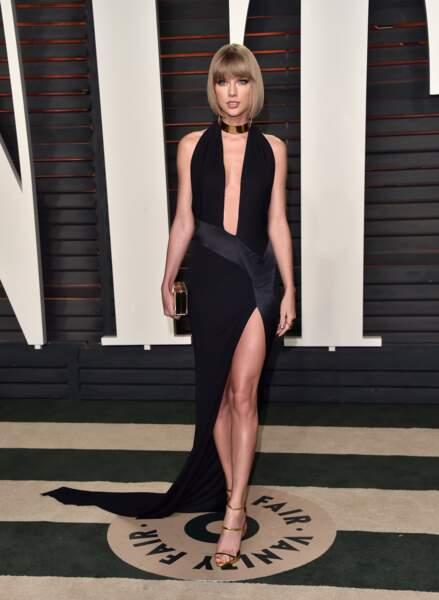 Taylor Swift en femme fatale