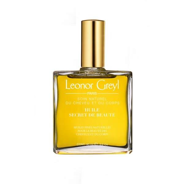 Huile secret de beauté, Leonor Greyl, 50€ les 95ml