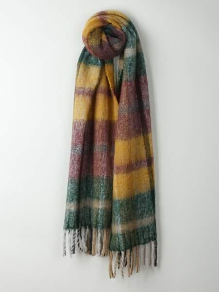 Foulard à carreaux multicolore, Indi & Cold, 67€