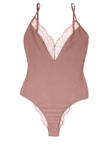 Body pink sparkle Charlie, Girls in paris, 59€