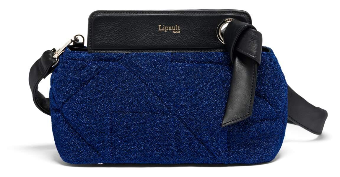 Sac Noélie Dazzling Blue, Lipault, 225€