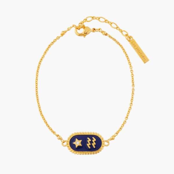 Bracelet avec signe astrologique, Les Néréides, 70€