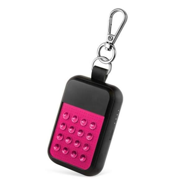 Chargeur à induction porte-clés Wipop Néon, Usbepower, 24,99€