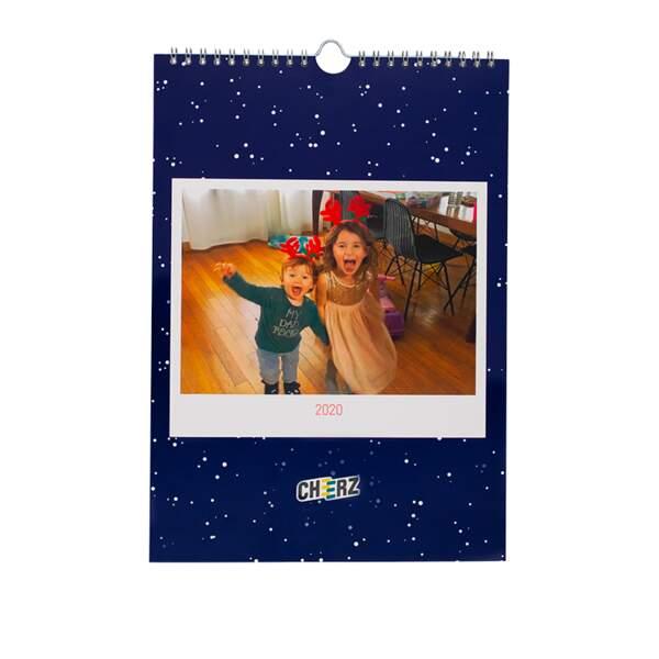 Calendrier personnalisable édition Noël, Cheerz, à partir de 21€