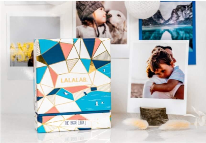 Lala Box avec 32 à 48 photos format vintage dans une boîte à collectionner, Lalalab, à partir de 15,90€