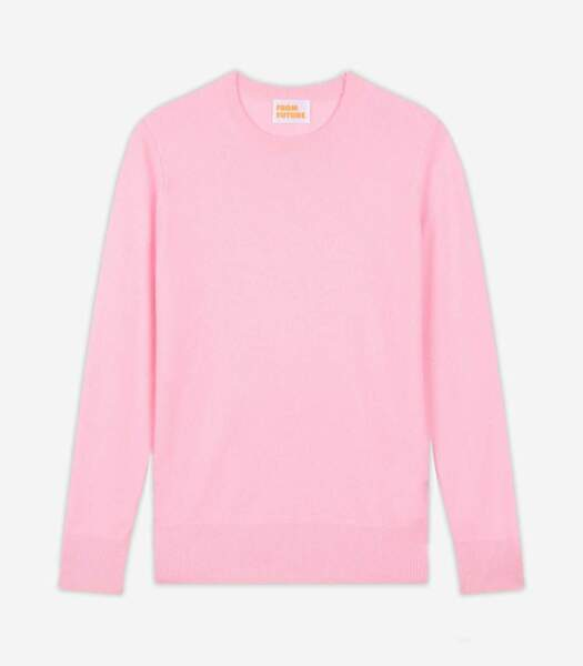 Pull à col rond baby cashmere, From Future, 99€