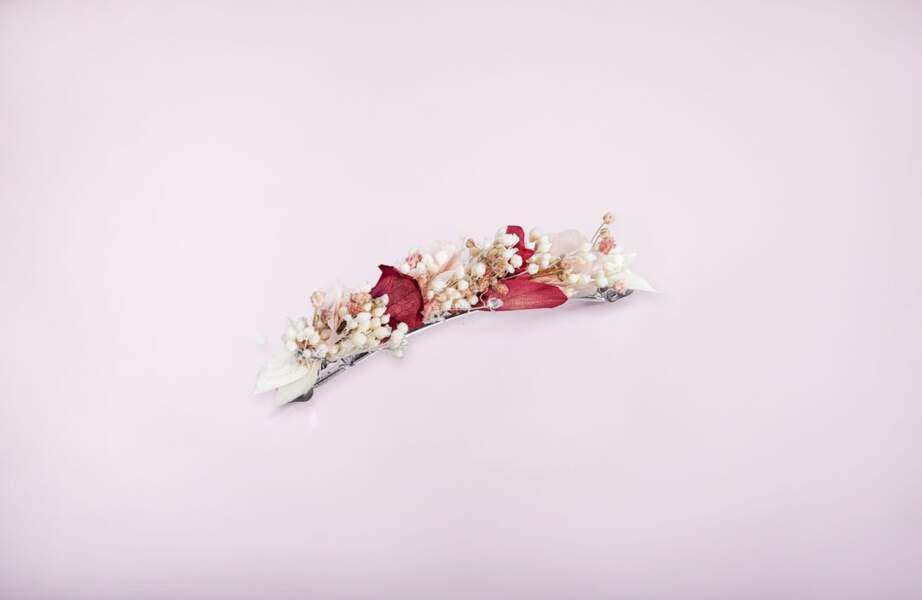 Barrette Rose, Les couronnes de Victoire, 75€