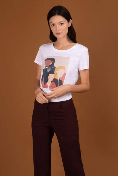T-shirt L'union fait la femme, 17h10 x Atelier le Van, 39€