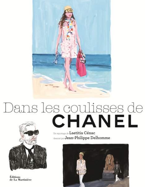 Dans les coulisses de Chanel par Laetitia Cenac, Editions de La Martinière, 29€