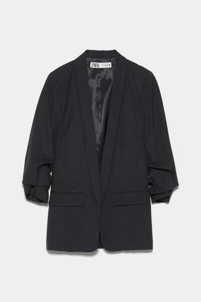 Veste à manches retroussées, Zara, 41,97€