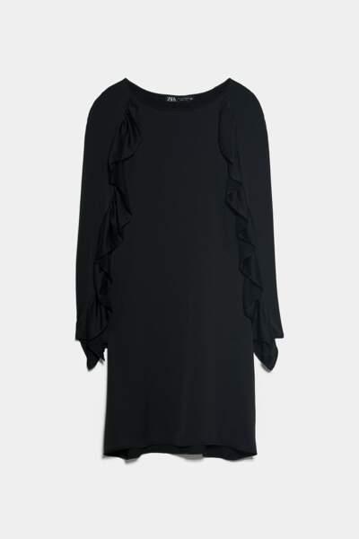Robe courte à volants, Zara, 17,97€