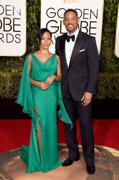 Un duo glamour sur le tapis rouge