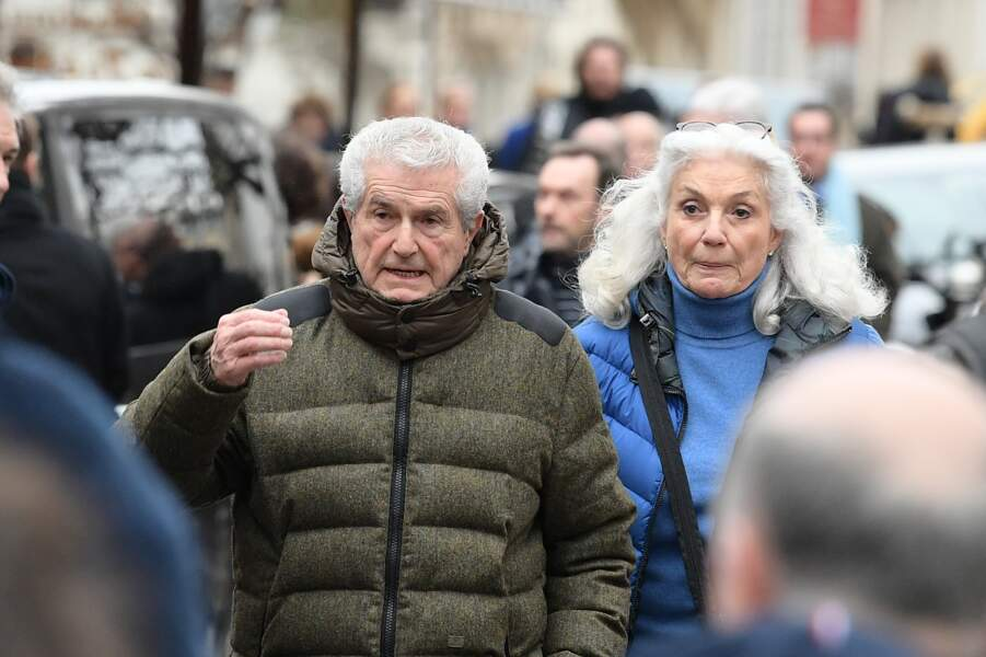 Obsèques de Michou à Paris : Claude Lelouch