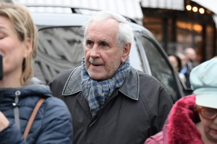 Obsèques de Michou à Paris : Patrice Laffont