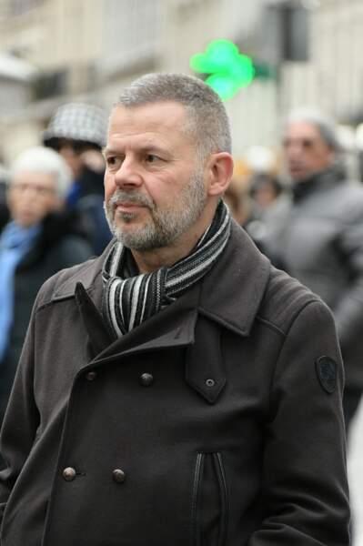Obsèques de Michou à Paris : Eric Naulleau