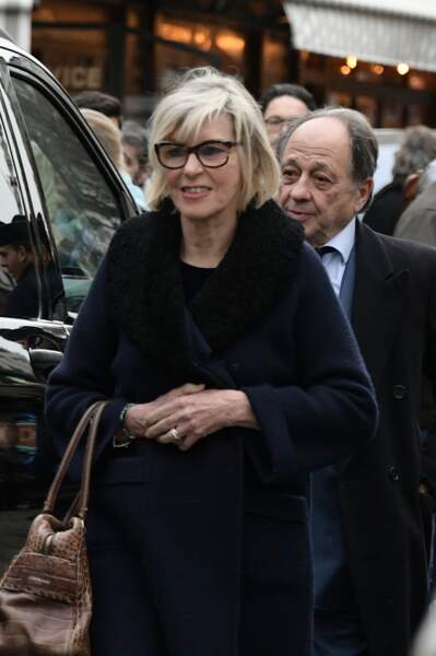 Obsèques de Michou à Paris : Chantal Ladesou