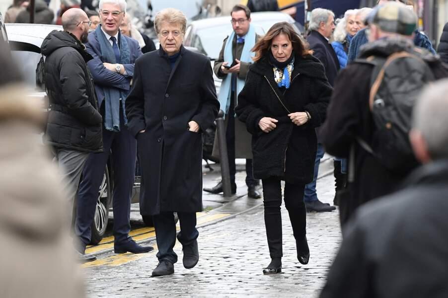 Obsèques de Michou à Paris : Denise Fabre et son mari