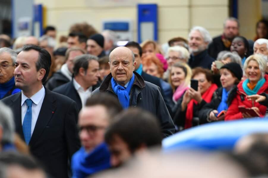 Obsèques de Michou à Paris : Alain Juppé