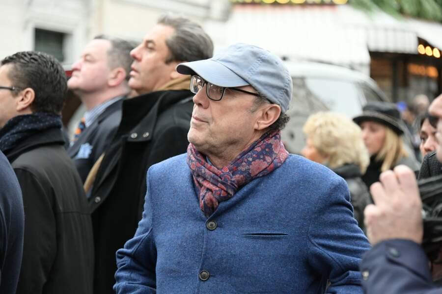 Obsèques de Michou à Paris : Julien Lepers