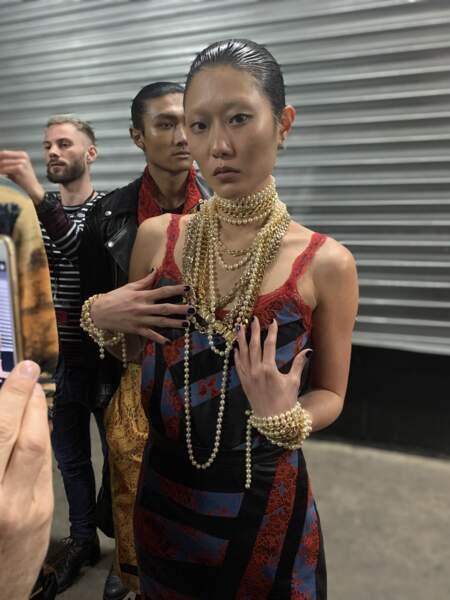 Fashion week : plongez dans les coulisses du défilé Koché