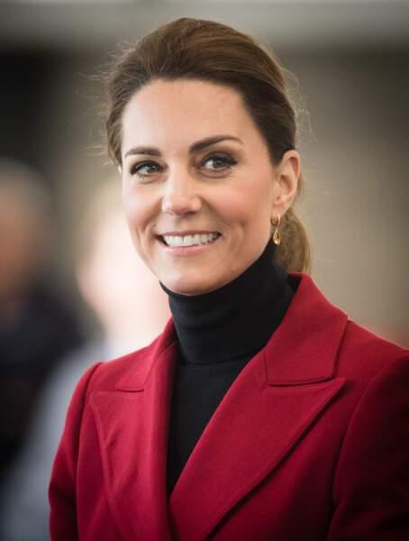 Kate Middleton assume ses quelques cheveux blancs