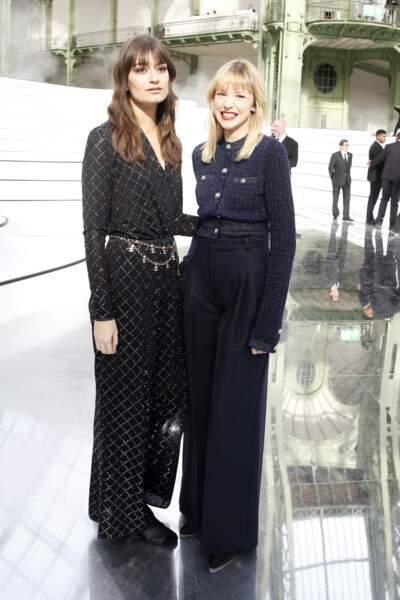Fashion Week - Clara Luciani et Angele étaient aussi de la partie (défilé Chanel)
