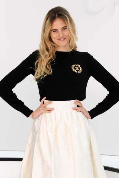 Fashion Week - Tout comme sa fille, Violette d'Urso (défilé Chanel)