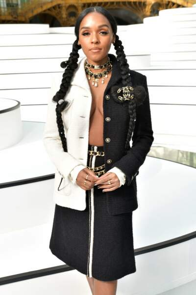 Fashion Week - Il y avait aussi Janelle Monae (défilé Chanel)