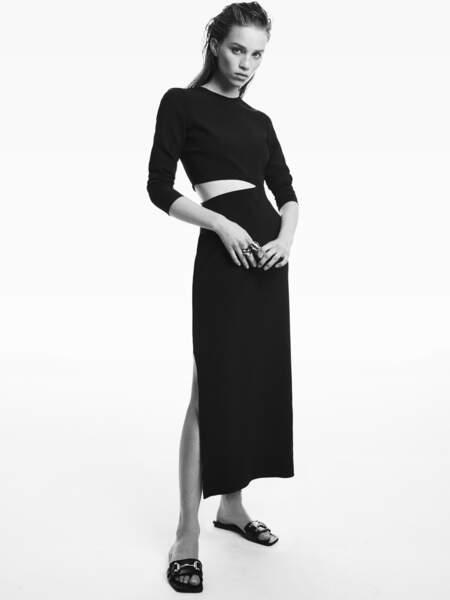Tendance minimalisme : Robe Zara, 59,95€.