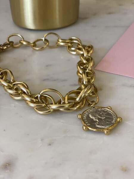 Collier Breguet, Parisienne et alors x Dear Charlotte, 90€