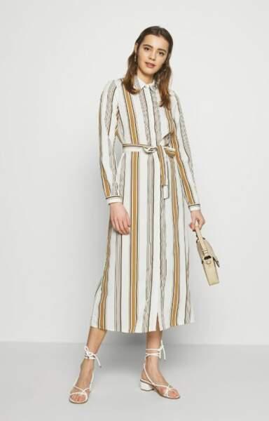 Robe longue chemise, Vero Moda, actuellement à 25€