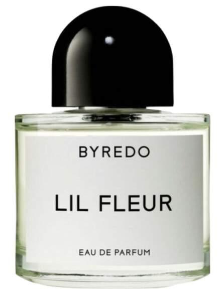 Eau de parfum Lil Fleur, Byredo, 127€ les 50ml