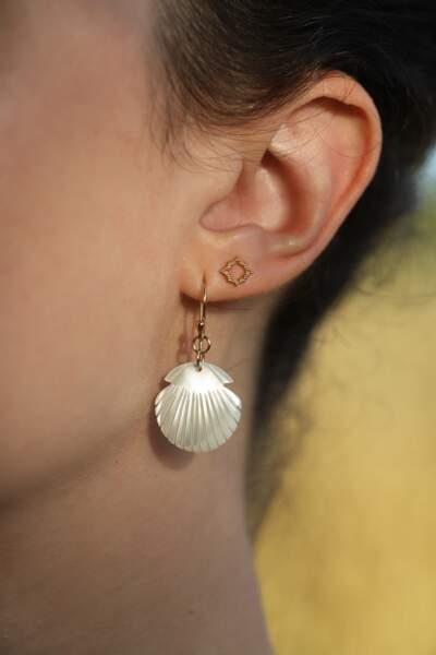 Boucles d'oreilles ILIOS, Boneur Paris, 69€