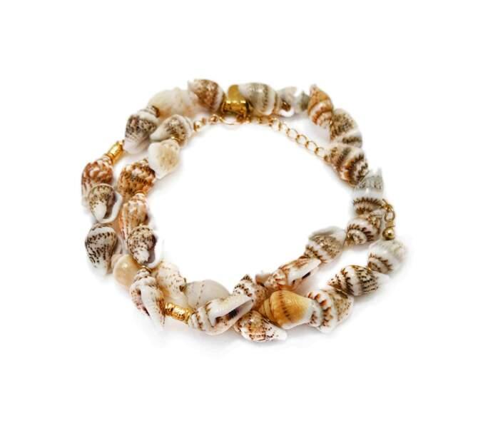 Bracelet double AXOS, Elise Tsikis, 90€