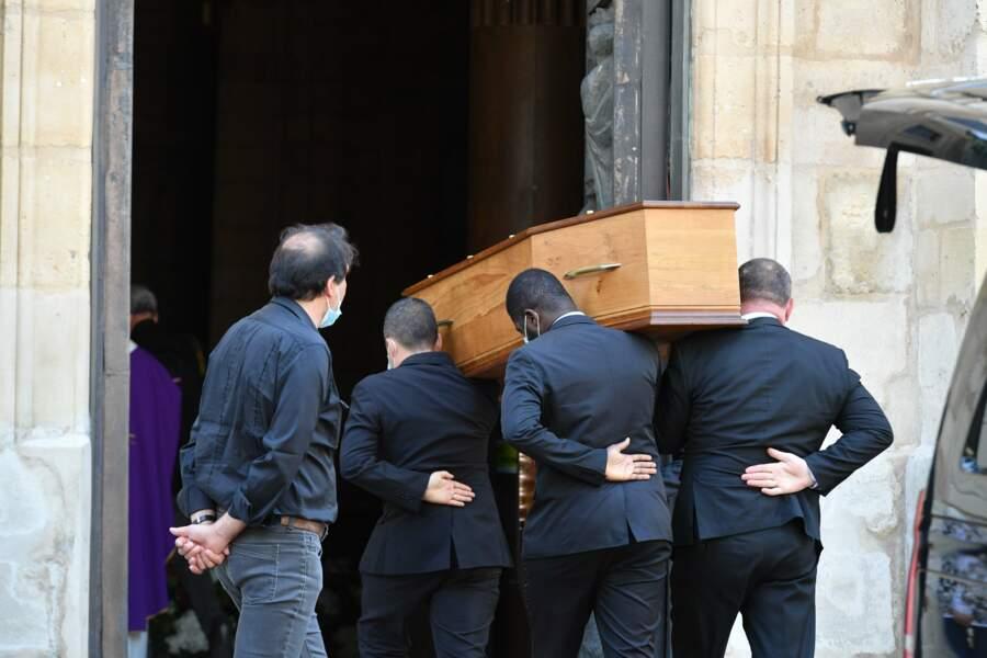 Obsèques d'Hermine de Clermont-Tonnerre en l'église Saint-Pierre de Montmartre