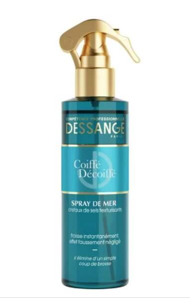 Spray de la mer pour cheveux, Dessange, 7,99€ les 200ml chez Monoprix