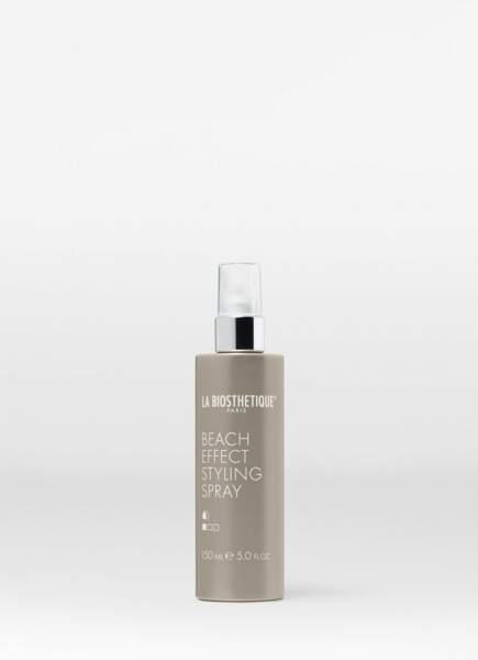 Spray au sel de mer pour un effet retour de plage, La Biosthetique, 19,15€ les 150ml
