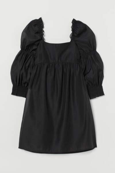 Robe à manches bouffantes, H&M, 14,99€