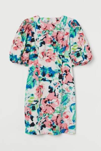 Robe en popeline, H&M, 24,99€