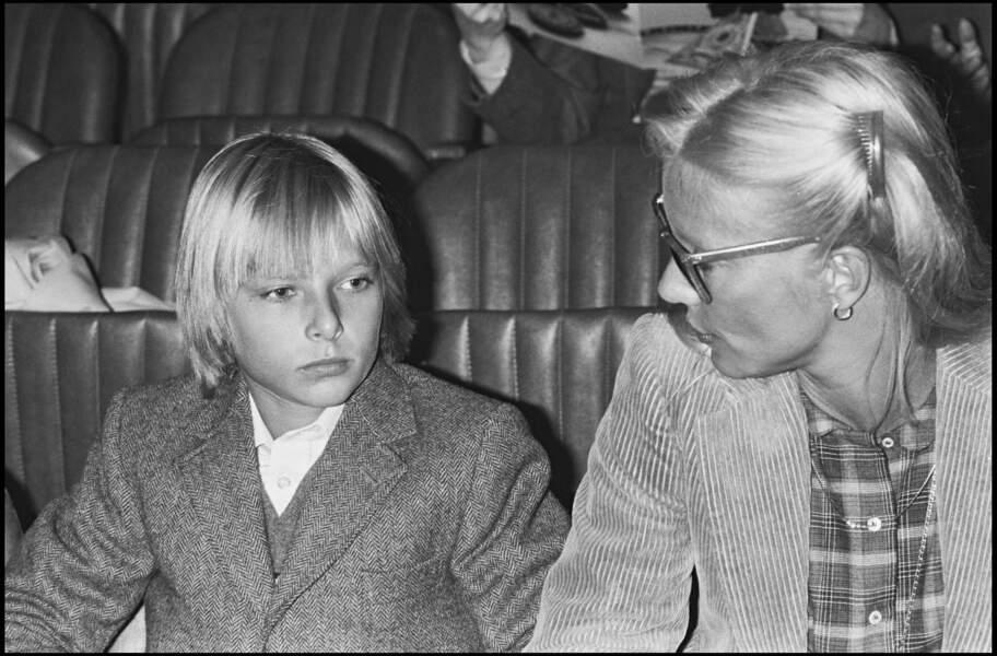 Avec Sylvie Vartan