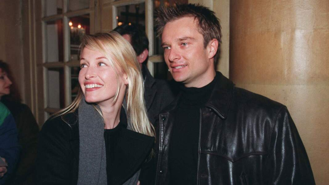 Avec son ex-femme Estelle Hallyday