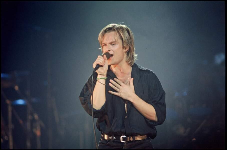 Premier concert de la première tournée en 1991