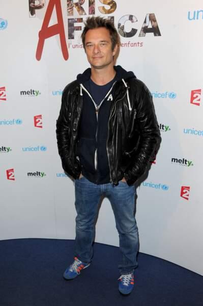 David en 2011 pour l'UNICEF