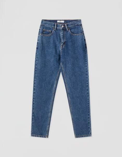 Jean mom basique, Pull&Bear, 19,99€