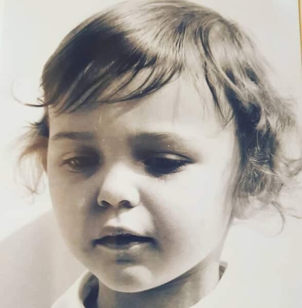 Les stars enfants : Sandrine Quétier