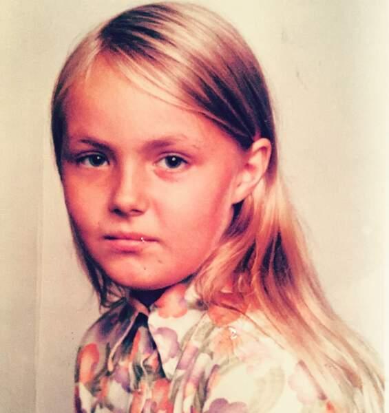 Les stars enfants : Valérie Damidot