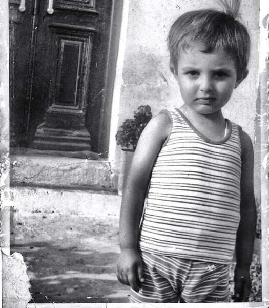 Les stars enfants : Nikos Aliagas