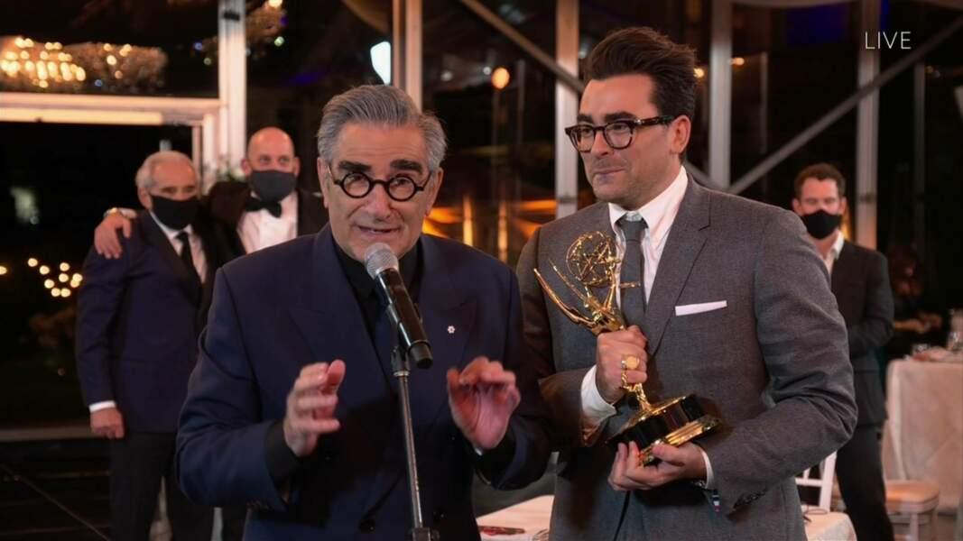 Eugene Levy, meilleur acteur dans la série comique Schitt's Creek