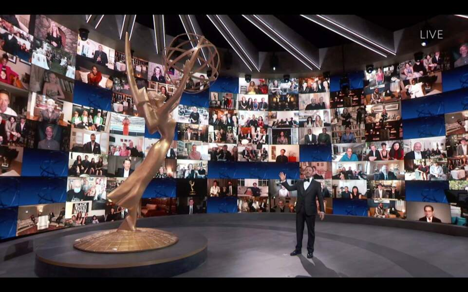 L'ambiance particulière des Emmy Awards 2020