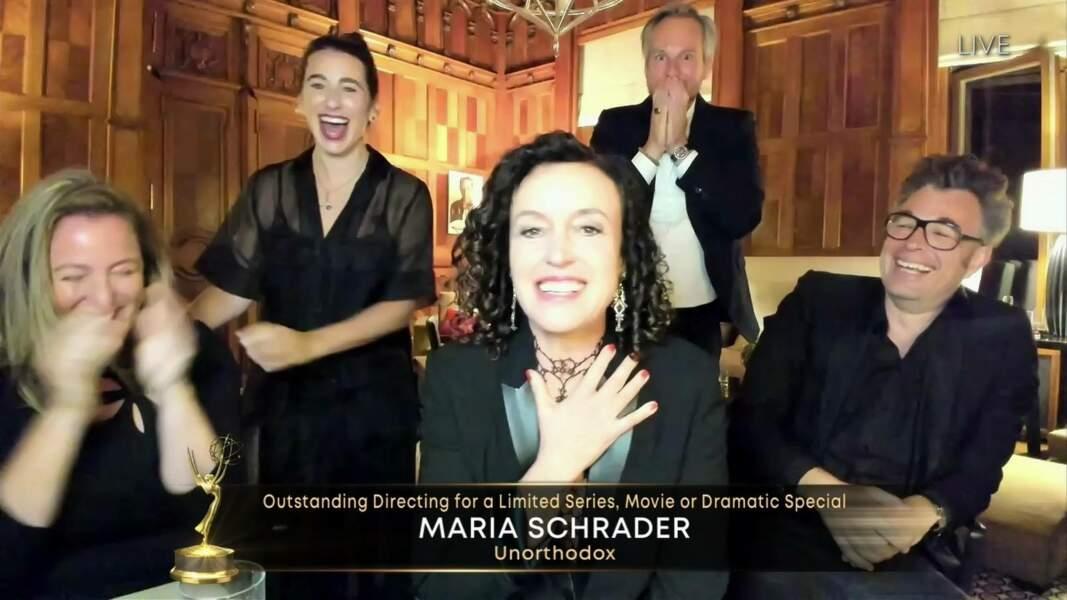 Maria Schrader, meilleure réalisatrice pour Unorthodox